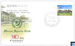 Sri Lanka Stamps 2009, Moors Sports Club, Cricket, MNH - Sri Lanka (Ceylon) (1948-...)