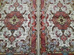 Persia - Iran - Tappeto Persiano Tabriz 60 Raj , Lana Kurk Misto Seta  Extra Fine ,in Coppia,Mixed Silk - Tappeti & Tappezzeria