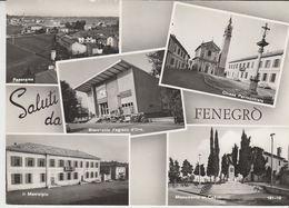 1964 FENEGRO' - SALUTI DA (COMO) VEDUTINE -- M1718 - Como