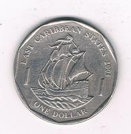 ONE DOLLAR  2004 EAST CARIBBAEN GROUP /2655/ - Monnaies