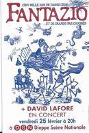 DIEPPE FANTAZIO DAVID LAFORE EN CONCERT ROCK JAZZ HIP HOP - Théâtre