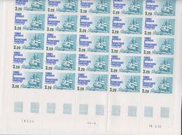 TAAF 1987 Ship Eure 1v Sheetlet Complete Sheetlet With Large Margins ** Mnh (TA228) - Ongebruikt