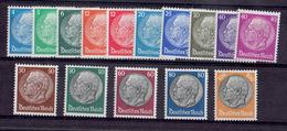 TP - ALLEMAGNE De 1932 - N° 442-444-445-448-449 Et  N° 452 à 461 Neufs X - TB - Neufs