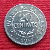 Bolivia 20 Centavos 1987 KM# 203 Bolivie - Bolivia