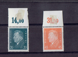 TP - ALLEMAGNE De 1928 - N° 406 Et N° 410 Neufs XX - Neufs