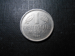 BRD  1 Deutsche Mark - Mz F -  1993 - [ 7] 1949-… : RFA - Rép. Féd. D'Allemagne