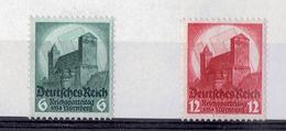 TP - ALLEMAGNE De 1934 - N° 511 Et N° 512 Neufs XX - Allemagne