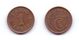 Iceland 1 Eyrir 1942 - IJsland