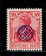 Haute-Silésie C.I.H.S. Michel N° 6 Neuf ** MNH. Signé Haertel. TB Et Rare! A Saisir! - Silésie (Haute & Orientale)