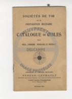 /!\ 9906 - Catalogue De Cibles (Berger-Levrault 1931) - Catalogues