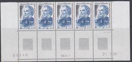 TAAF 1987 Admiral Mouchez 1v  Strip Of 5 (printing Date)   ** Mnh (TA229A) - Ongebruikt