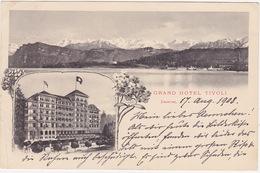 613/ Lucerne, Grand Hotel Tivoli 1908 - LU Lucerne