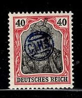 Haute-Silésie C.I.H.S. Michel N° 12 Neuf ** MNH. Signé Haertel. TB Et Rare! A Saisir! - Silésie (Haute & Orientale)