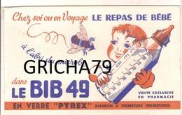 BUVARD - LE BIB 49 EN VERRE PYREX - Kids