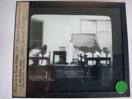 MISSIONS SOEUR FRANCISCAINE OBLATE FAISANT LA CLASSE SAEROGA LAEROYA PHILIPINES CHINE CHINA PLAQUE DE VERRE PHOTOGRAPHIE - Glass Slides