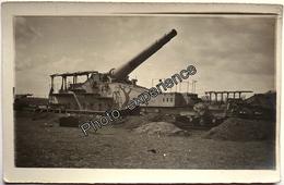CPA Carte Photo Guerre 14-18 Militaire Artillerie ALVF Artillery Military WW1 FLANDRES - Guerre 1914-18