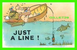 HUMOUR - COMICS - JUST A LINE - BATHERS 12 DES. - - Humour