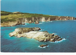 Italy Isla Tremetti Cretaccio And The Stacks Of S Domino Postcard San Nicola Island Postmark Used Good Condition - Italie