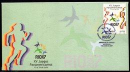 COLOMBIA- KOLUMBIEN- 2007. FDC/SPD. SPORTS  XV PANAMERICAN GAMES RIO 2007 - Colombie