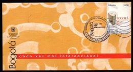 COLOMBIA- KOLUMBIEN- 2007. FDC/SPD.  ( 1 ) - BOGOTA WORLD CAPITAL OF BOOK - Colombie