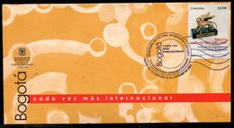 COLOMBIA- KOLUMBIEN- 2007. FDC/SPD.  ( 2 ) - BOGOTA WORLD CAPITAL OF BOOK - Colombie