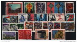 ITALIA -  REPUBBLICA  - ANNATA COMPLETA 1968 USATI  LUSSO - 6. 1946-.. Repubblica