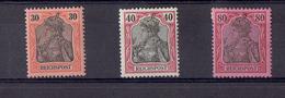 TP - ALLEMAGNE De 1900 - N° 57 - 58 - 60  X Neufs - TB - Allemagne