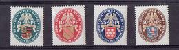TP - ALLEMAGNE De 1926 - N° 390 à 393  X Neufs - - Neufs