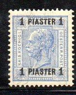 XP4585 - LEVANTE AUSTRIA 1901, Unificato  N. 34/I  Nuovo  *  (2380A) . - Oostenrijkse Levant