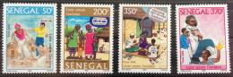 Sénégal 2006 Lutte Contre L'excision Fight Agains Female Mutilation Kampf Gegen Beschneidung 4 Val. RARE MNH - Senegal (1960-...)