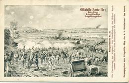 Rotes Kreuz N.25 Die Beschiessung Der Höhen Durch Unsere Artillerie Vom Dem Sturmangriff Der Infanterie - Guerra 1914-18