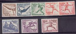 TP - ALLEMAGNE De 1936 - N° 565 à 572  Xx Neufs (sauf N°570 X Neuf) - Allemagne