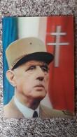 CPSM 3 D RELIEF CHARLES DE GAULLE 1890 1970 UNE CERTAINE IDEE DE LA FRANCE ED DINO 1972 - Personajes Históricos