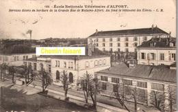 CPA  ALFORT Ecole Vétérinaire - Scans Recto-verso - Maisons Alfort