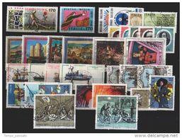 ITALIA -  REPUBBLICA  - ANNATA COMPLETA 1977 USATI  LUSSO - Annate Complete