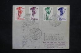 VIÊT NAM - Enveloppe FDC En 1956 , Affranchissement Plaisant - L 25828 - Viêt-Nam