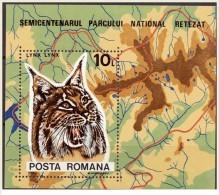 Romania - 1985 - Usato/used - Animali - Mi Block 218 - 1948-.... Républiques