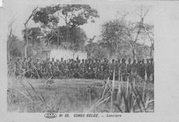 Congo Belge.  Lanciers . Petit Manque Au Dessus à Gauche   (scan - Congo Belge - Autres