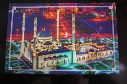 Russia. Chechnya.  Chechen Republic  - Modern Postcard - Islam Mosque - Chechenia