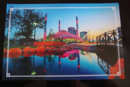 "Russia. Chechnya.  Chechen Republic  - Modern Postcard - Islam ""Mother's Heart"" Mosque - Tsjetsjenië"