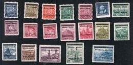 1939 15. Juli Mi 1 - 19 Sn 1 - 19 Yt 1 - 19 Sg DE-BM 1 - 19 AFA  1 - 19 POF 1 - 19 M. G. Und Falz Gepr. Gilbert - Böhmen Und Mähren