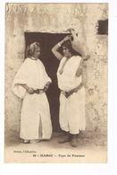 CPA. Type De Femmes.      (F.558) - Maroc