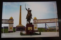Russia. Chechnya.  Chechen Republic  - Modern Postcard - WALK OF FAME  Memorial - Chechenia