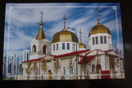 Russia. Chechnya.  Chechen Republic  - Modern Postcard - Orthodox Church - Tsjetsjenië