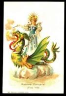 CARNAVAL De NICE 1902 - Madame Carnaval - (Belle Illustration) - CP Précurseur, Vers 1900. - Carnival