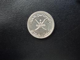 OMAN : 25 BAISA  1410 (1989)   KM 45a     Non Circulé - Omán