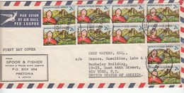 South Africa   Cover   (Red-4000-special-4) - Afrique Du Sud (1961-...)