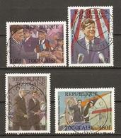 Togo 1988 - Anniversaire De La Mort De JF Kennedy - Série Complète ° - 1246/49 - Togo (1960-...)
