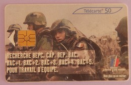 """TELECARTE 03/2003 SANS UNITE """"ARMEE DE TERRE"""" - Frankrijk"""