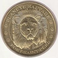 MONNAIE DE ¨PARIS 44 PORT-SAINT-PÈRE - Planéte Sauvage - Port-St-Père - La Tête De Lion - 2015 - Monnaie De Paris